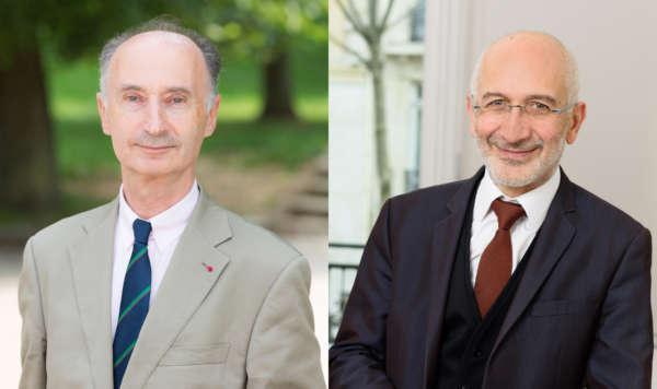 Jean-Luc de Boissieu, président de Smacl Assurances  et Robert Chiche, président de Smacl Santé