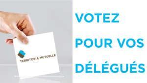 Vote pour délégué de territoria mutuelle