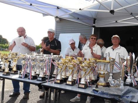 Trophées 6ème rencontre de pétanque de l'UNASAT