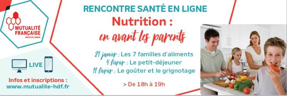 rencontre nutrition pour les parents
