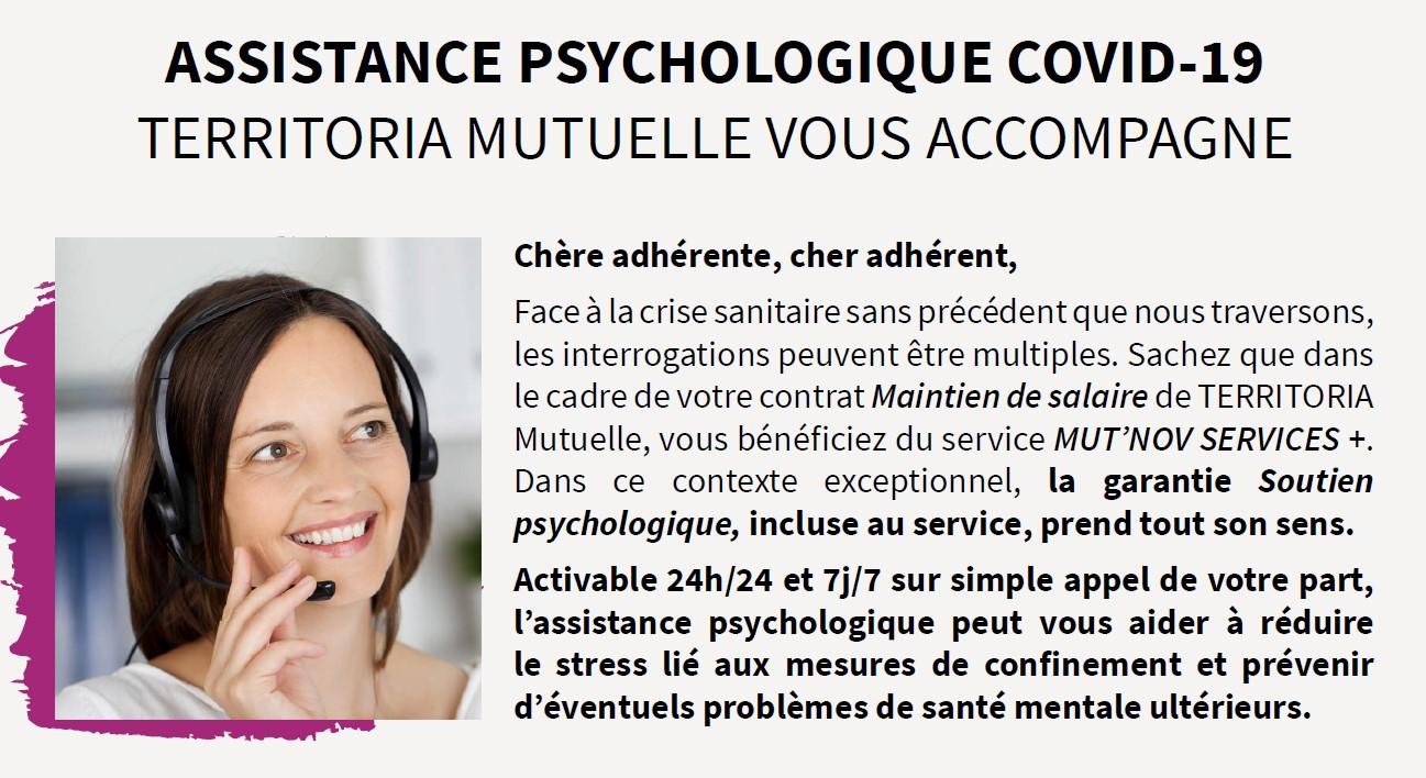 Assistance Psychologique Covid-19
