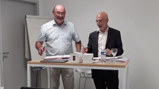 Robert Chiche et André Durand